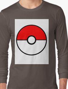 Simplistic Pokeball Long Sleeve T-Shirt