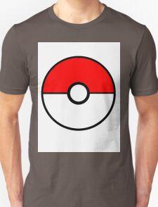 Simplistic Pokeball Unisex T-Shirt
