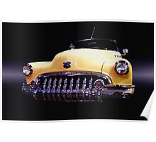 1950 Buick Roadmaster Convertible Poster