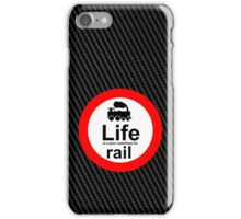 Rail v Life iPhone Case/Skin