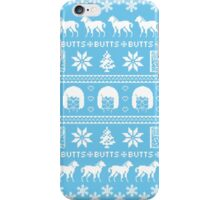 Ugly Holiday Tina! iPhone Case/Skin
