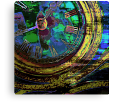 Journey Through Time and Space Canvas Print