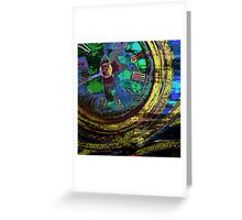 Journey Through Time and Space Greeting Card