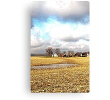 Where Corn Grows Canvas Print