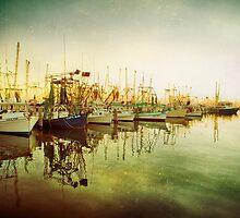 Shrimp Boat Line Up by Jonicool