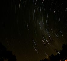 Spinning Star Trails.. by Kristina K