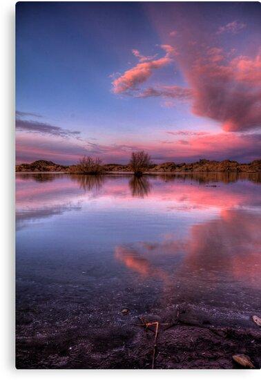 Pinching Sunset by Bob Larson