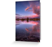 Pinching Sunset Greeting Card