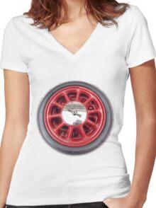 Alfa Romeo G1 Women's Fitted V-Neck T-Shirt