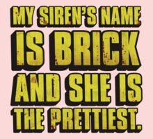 Brick Is Pretty One Piece - Short Sleeve