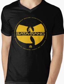 Batman Hiphop Style Mens V-Neck T-Shirt