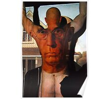 Muscling American Gothic Poster
