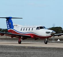 Australian Royal Flying Doctor Service Pilatus PC12 (VH-FGS) by Ben Scholz