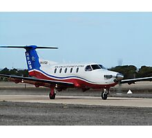 Australian Royal Flying Doctor Service Pilatus PC12 (VH-FGS) Photographic Print