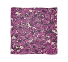 Floral Mirage - Purple Scarf