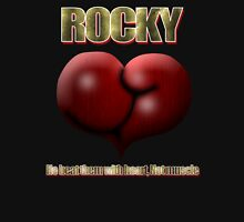 He Beat Them with Heart, Not Muscle - Rocky Unisex T-Shirt