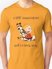 Calvin and Hobbes Little Imagine T-Shirt