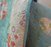 Sweetheart Play Quilt detail #2 by Helen  Richards