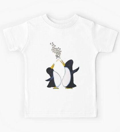 Penguins Chatter Kids Tee