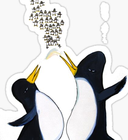 Penguins Chatter Sticker