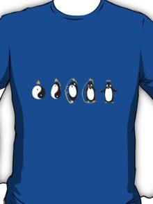 Yin Yang Penguin T-Shirt