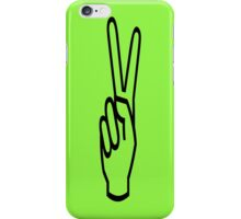 Green Peace Sign iPhone Case iPhone Case/Skin