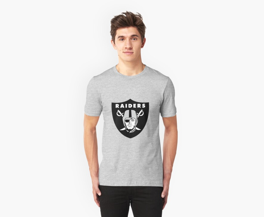 Oakland Raiders T-Shirts & Hoodies by wedoso | Redbubble
