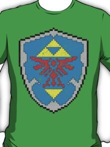 8-Bit Hylian Shield T-Shirt