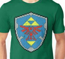 8-Bit Hylian Shield Unisex T-Shirt