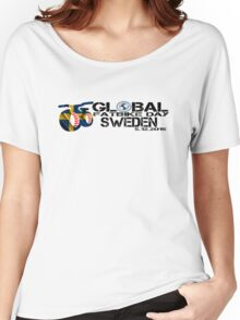 Global Fatbike Day 2015 - Sweden Women's Relaxed Fit T-Shirt