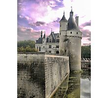 Reflecting On Chenonceau ( 4 ) Photographic Print