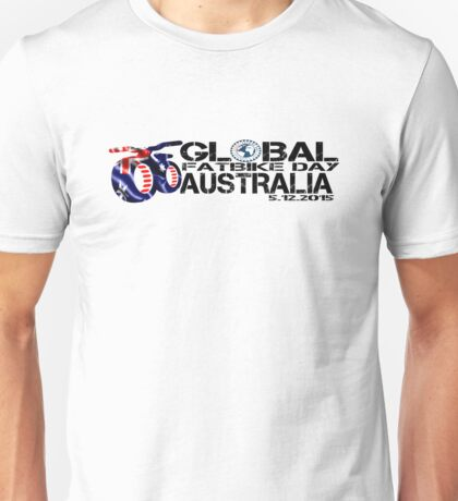 Global Fatbike Day Australia 2015 Unisex T-Shirt