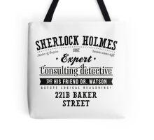 Sherlock Holmes Expert Tote Bag