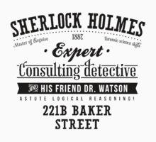Sherlock Holmes Expert Kids Tee