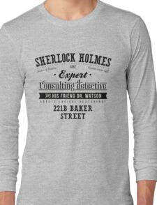 Sherlock Holmes Expert Long Sleeve T-Shirt
