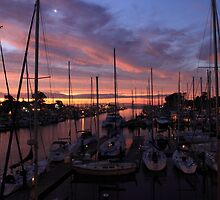Harbor Sunrise by ChrisHarrell