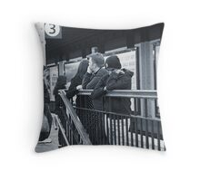 Inner City Blues Throw Pillow