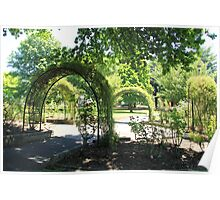 Arches in the Park, Lithgow Poster
