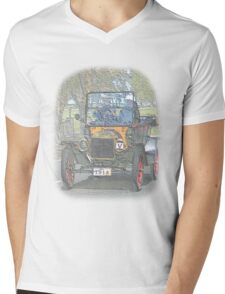 Ford Model T Mens V-Neck T-Shirt