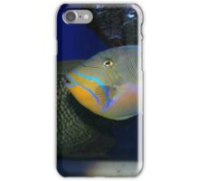 Electric Blue and Gold iPhone Case/Skin