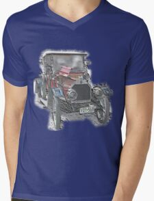 FN 20HP Mens V-Neck T-Shirt