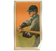 Benjamin K Edwards Collection Lefty Leifield Pittsburgh Pirates baseball card portrait Poster