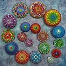 Mandala Stone Spiral by Elspeth McLean