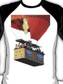 Hot Air Balloon with Basket T-Shirt