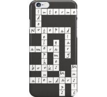 Crossword - iPhone Case iPhone Case/Skin