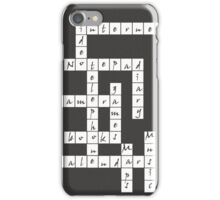 Crossword - iPhone Case iPhone Case/Skin