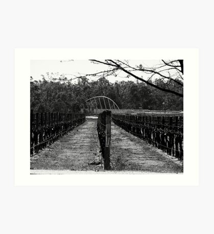 Pruning is finished Art Print