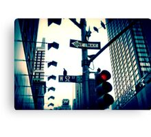 52nd Street - NYC Canvas Print
