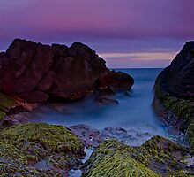 Sunset Canyon, Fingal Bay by bazcelt