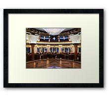 The Yacht Club Framed Print